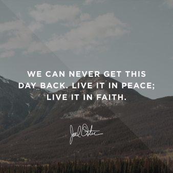 Joel Osteen Devotional 27 August 2019