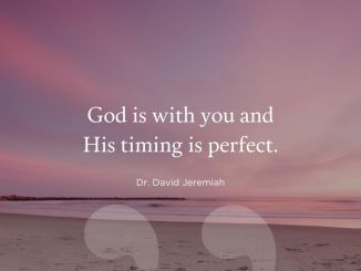 David Jeremiah Devotional 8th November 2019