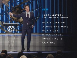 Joel Osteen Devotional 28th November 2019