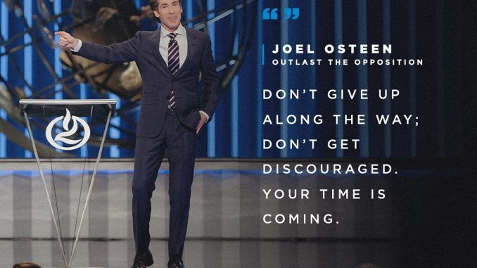 Joel Osteen Devotional 28th November 2019