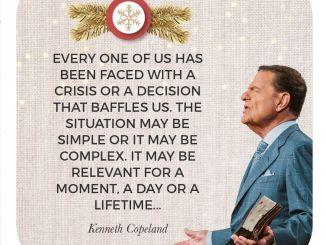 Kenneth Copeland Devotional 21st December 2019