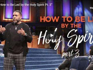 Creflo Dollar Sermon - Holy Spirit