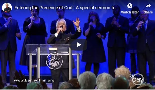 Benny Hinn - Entering the Presence of God