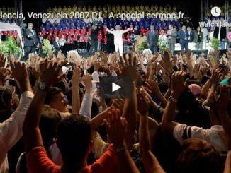 Benny Hinn Sermon - Valencia Venezuela 2007