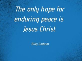Billy Graham Devotional 17 March 2020