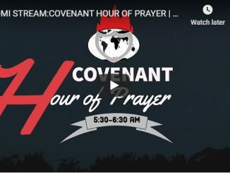Covenant Hour of Prayer With David Oyedepo Ministry