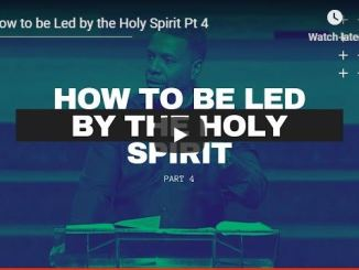 Creflo Dollar Sermon - How to be led by Holy Spirit
