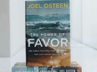 Joel Osteen Book - Power of Favor