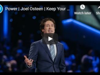 Joel Osteen Message - Power To Remain Calm
