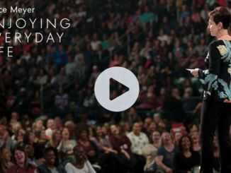 Joyce Meyer message - How to have successful relationships