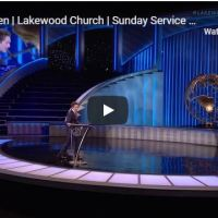 Lakewood Church Sunday live service with Joel Osteen and Joseph Prince