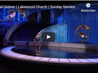 Lakewood Church Sunday live service Joel Osteen