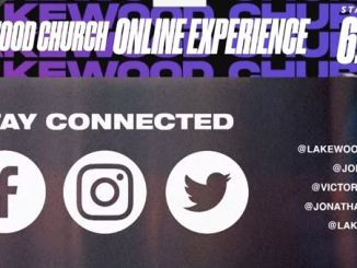 Lakewood Church online experience