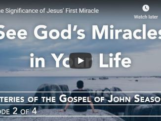 """Rabbi Schneider Sermon - """"The Significance of Jesus' First Miracle"""""""