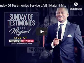 Shepherd Bushiri Sunday Of Testimonies Live Service