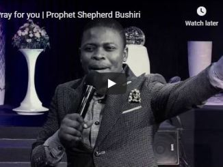 Prophet Shepherd Bushiri Prays For You
