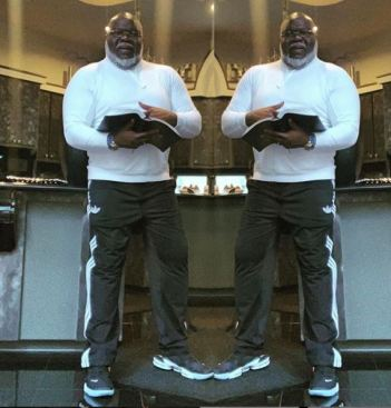 TD Jakes Message - Double Portion Blessing