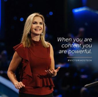 Victoria Osteen Message - Switch on the Power