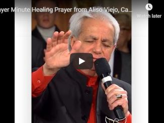 Benny Hinn - Healing Prayer from Aliso Viejo California