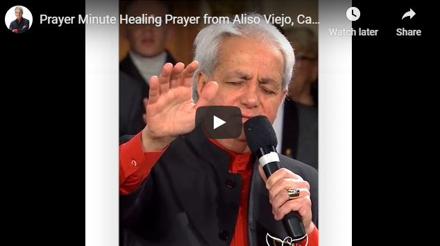 Benny Hinn - Healing Prayer from Aliso Viejo California