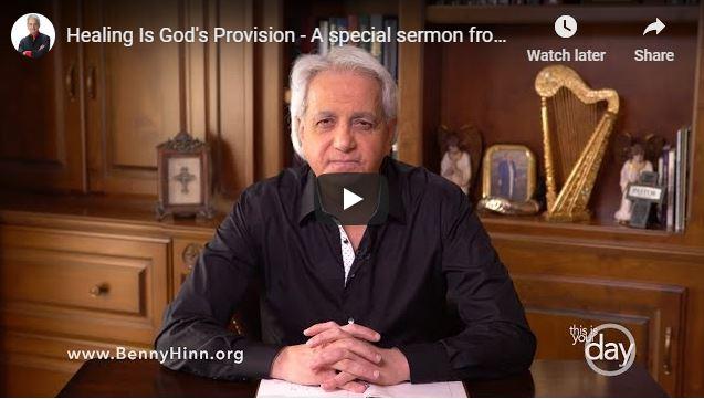 Benny Hinn Sermon - Healing Is God's Provision