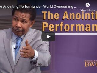 Bill Winston - The Anointing Performance - World Overcoming Faith