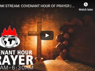 Covenant Hour Of Prayer April 9 2020