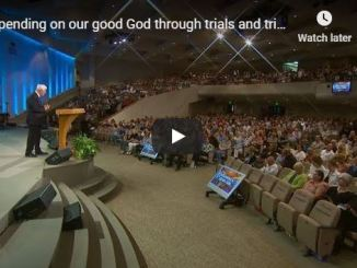 David Jeremiah - Depending on our good God through trials and triumphs