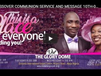 Dunamis Church Good Friday Service With Pastor Paul Enenche