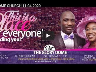 Dunamis Church Holy Saturday Service With Paul Enenche