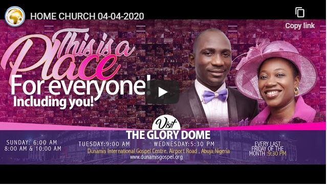 Dunamis Church Sunday Live Service With Pastor Paul Eneche