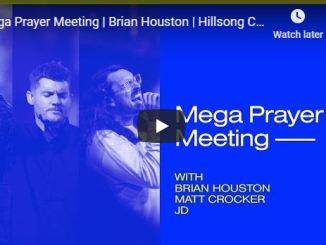 Hillsong Church - Mega Prayer Meeting With Brian Houston