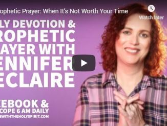 Jennifer Leclaire Message - When It's Not Worth Your Time