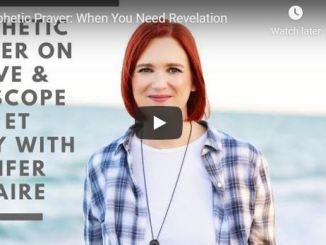 Jennifer Leclaire Prophetic Prayer April 16
