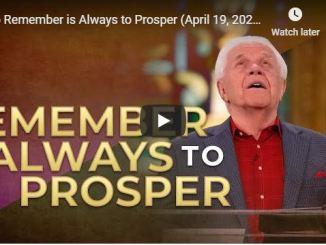 Jesse Duplantis Sermon - To Remember is Always to Prosper