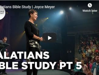 Joyce Meyer Sermon - Galatians Bible Study