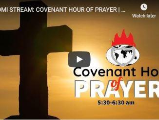 Living Faith Church Covenant Hour of Prayer April 10 2020