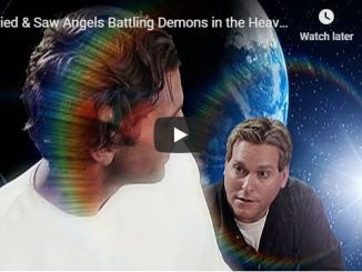 Mark Pool Died And Saw Angels Fighting Demons