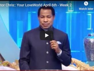Pastor Chris - Your LoveWorld April 6 2020 Week 2