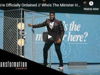 Pastor Michael Todd Sermon - You're Officially Ordained