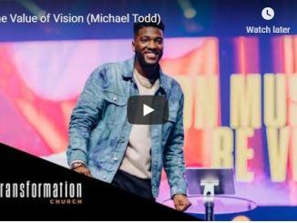 Michael Todd Sunday Service in Transformation Church