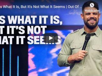 Pastor Steven Furtick Sermon