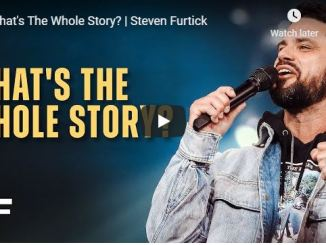 Steven Furtick Sermon - What's The Whole Story