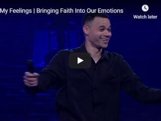 Tauren Wells Message - In My Feelings