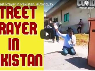Your Living Manna - Street Prayer in Pakistan For Coronavirus Covid-19