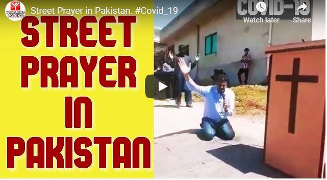 Your Living Manna - Street Prayer in Pakistan For Coronavirus Covid-19