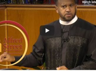Alfred Street Baptist Church Sunday live service May 24 2020 with Howard Wesley