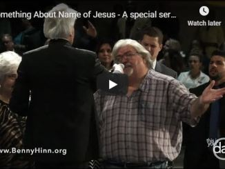 Benny Hinn Sermon - Something About Name of Jesus - May 20 2020