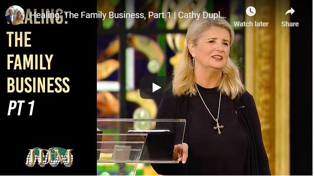 Cathy Duplantis Message - The Family Business - May 2020