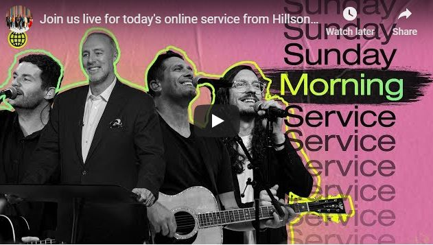 Hillsong Church Pentecost Sunday Service May 31 2020